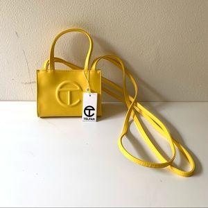 Telfar Yellow Small Shopper